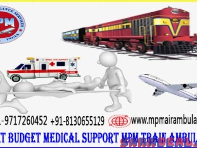 Now Searching for MPM Train Ambulance from Patna to Delhi with Medical Team