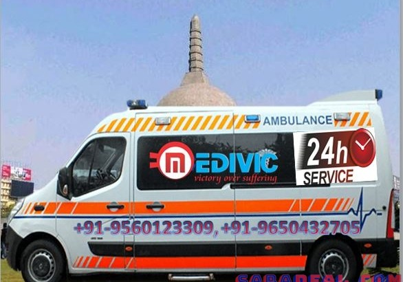 Pick ICU Ambulance Service in Phulwari Sharif with Doctor by Medivic