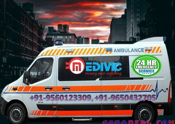 Take Low-Cost Ambulance Service in Koderma with ICU Setup by Medivic