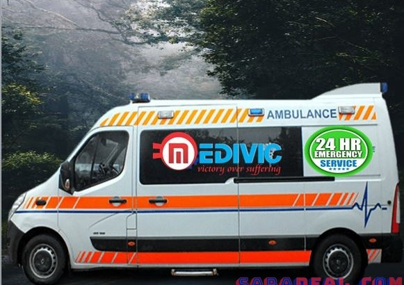 Hire Top-Grade Ambulance Service in Anishabad by Medivic