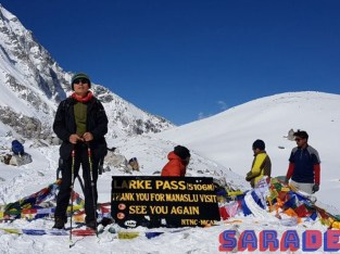Trek to Manaslu