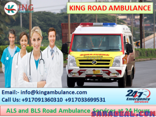 24 Hours Available King Ambulance Service in Rajendra Nagar Patna