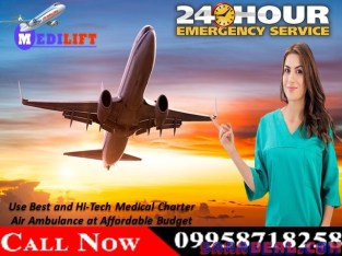 Get Medilift Charter Air Ambulance in Raipur with Expert Medical Team