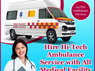 Reliable Ground Ambulance Service in Janakpuri by Medivic
