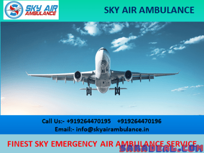 Take Quick Air Ambulance Service in Rajkot with Medical Support