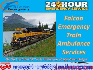 Get Train Ambulance Facilities in Chennai – Falcon Emergency at Lowest Budget