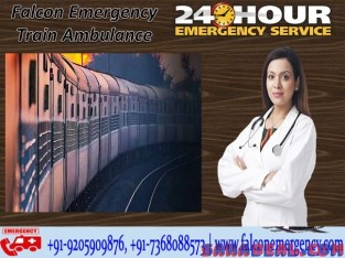 Get Train Ambulance Services in Bangalore – Falcon Emergency at Cost-Efficient