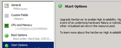 xenserver autostart after