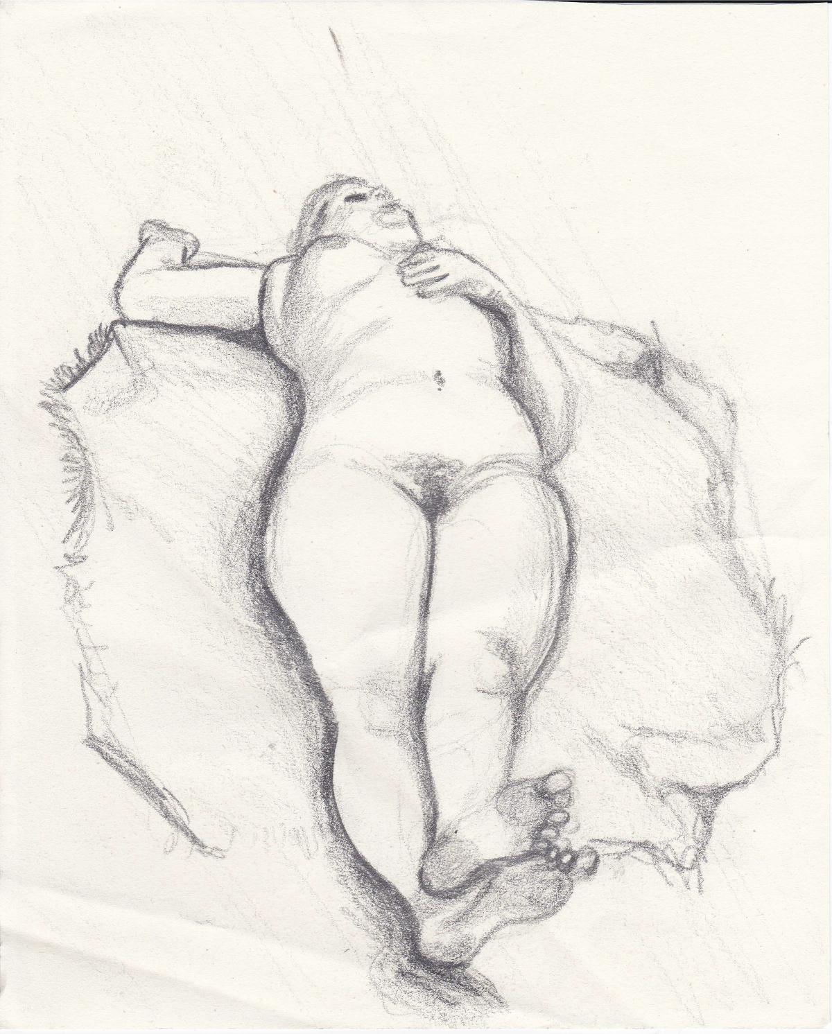Life Drawing  Sara Dziadik