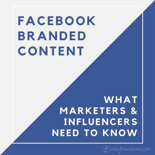 Facebook Branded Content