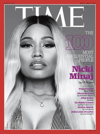 Nicki Minaj TIME 100 Most Influential People