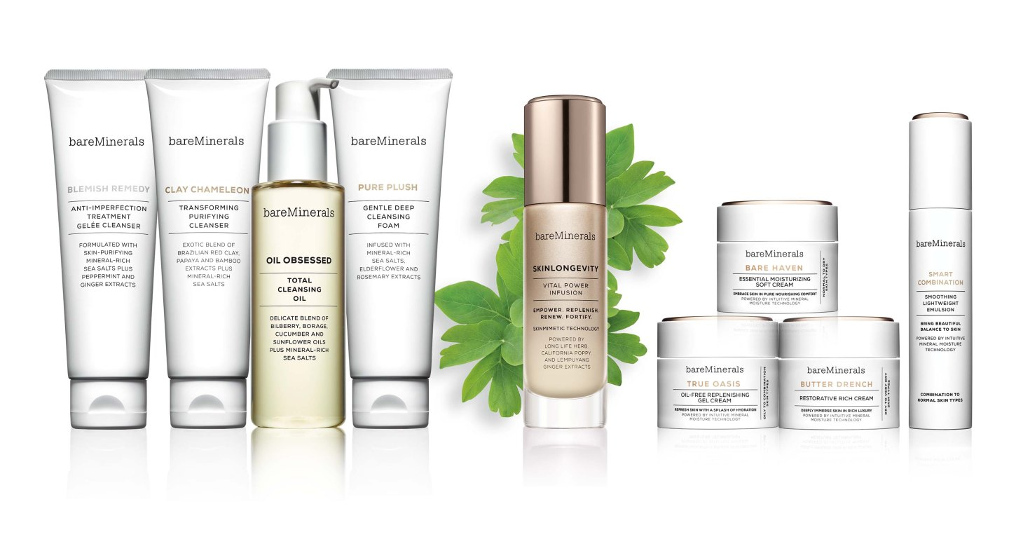bareMinerals Previews New Skincare Line