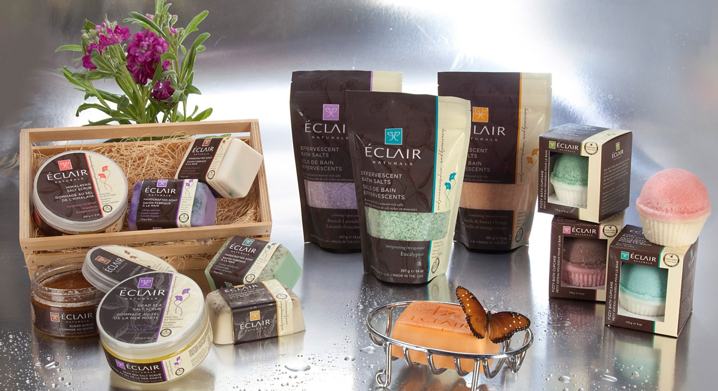 Eclair Naturals: New Vegan Bath, Body, Hair Care Line