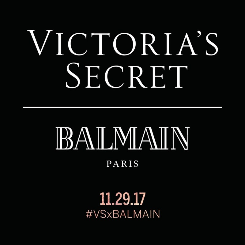 Victoria's Secret X Balmain Paris Collab Coming in November | #VSxBALMAIN