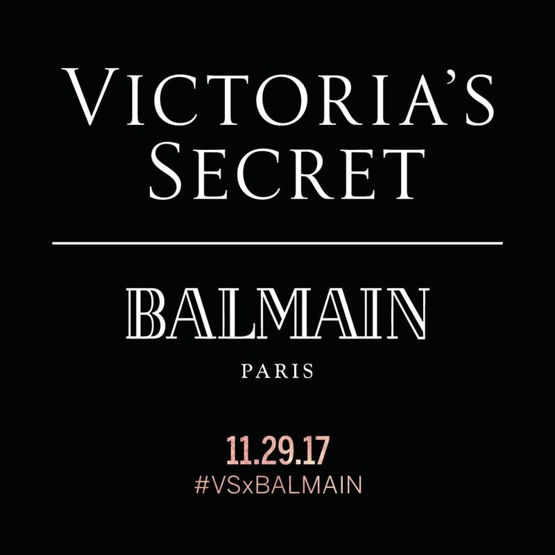 Victorias Secret VSxBALMAIN