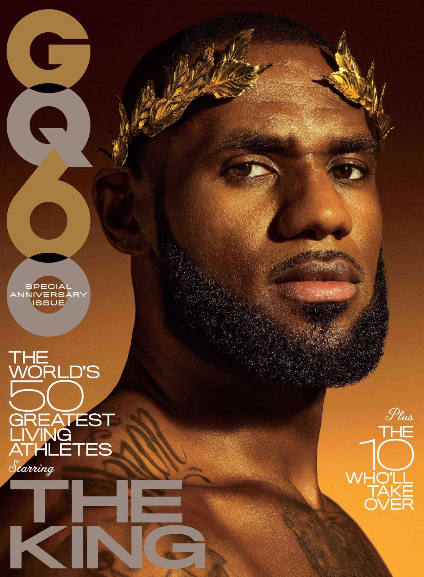 LeBron James Covers GQ's 60th Anniversary Issue