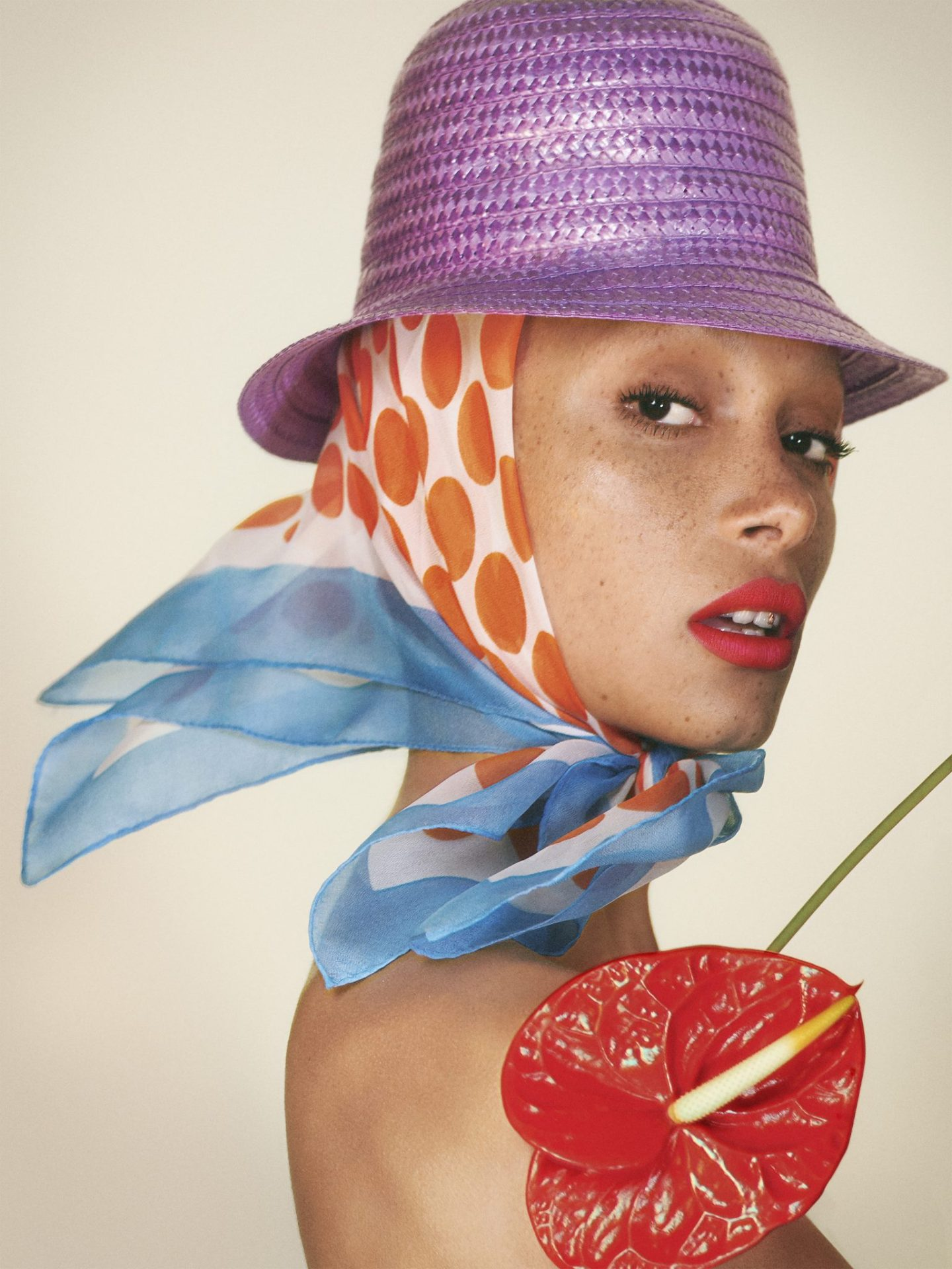 Adwoa Aboah Fronts Marc Jacobs 2018 Beauty Campaign + First Ever Liquid Lip Crayon!