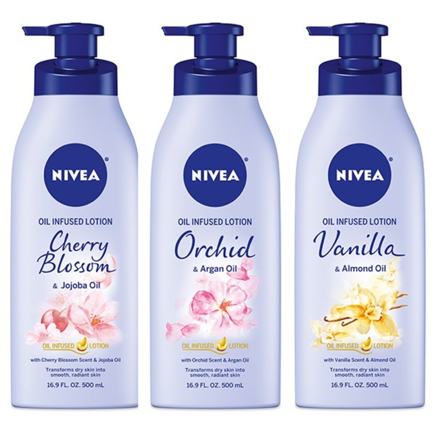 New NIVEA® Oil Infused Lotions!