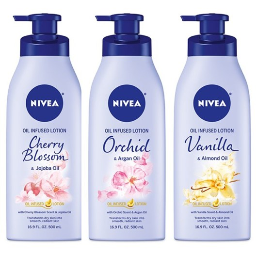 Beiersdorf NIVEA Oil Infused Lotions