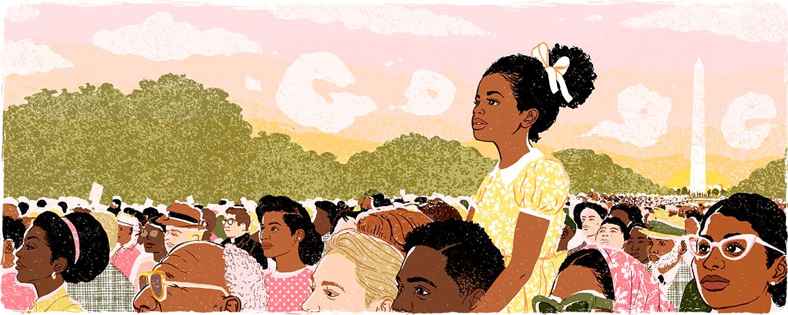 Google Doodle: Martin Luther King Jr. Day 2018