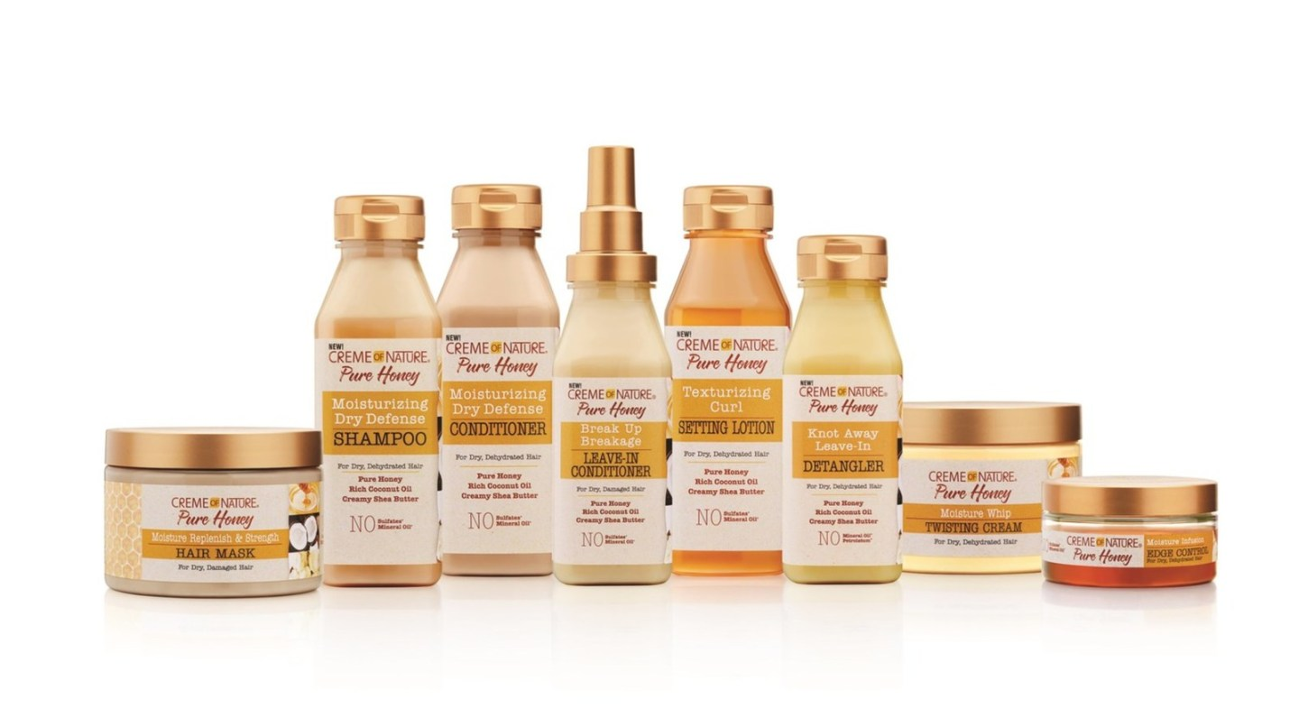 Creme of Nature Launches Pure Honey Line