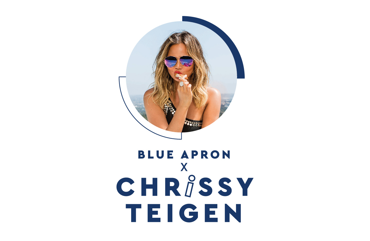 Blue Apron x Chrissy: Model Introduces 6 New Recipes for Summer