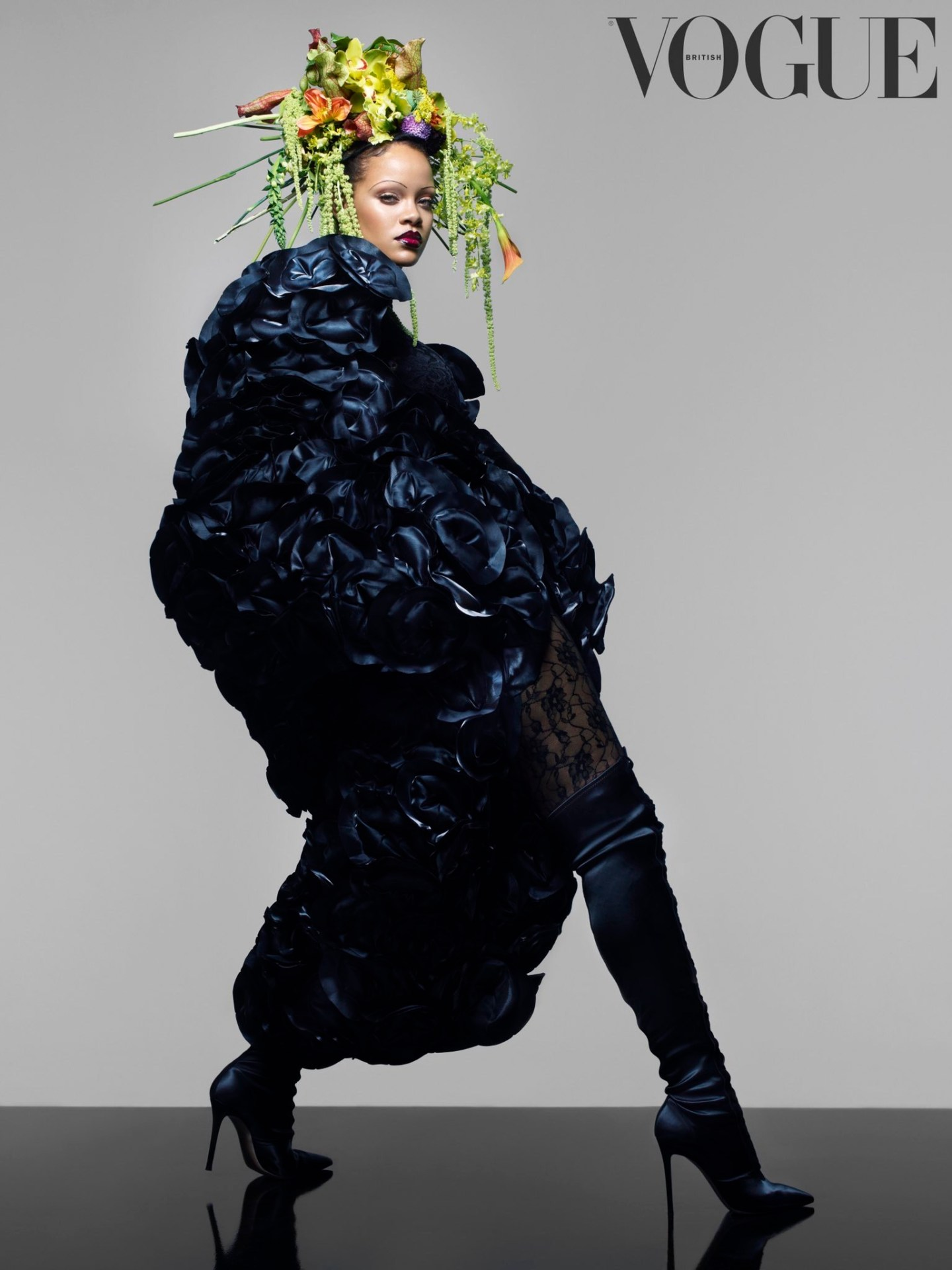 Rihanna Makes History with British Vogue Cover