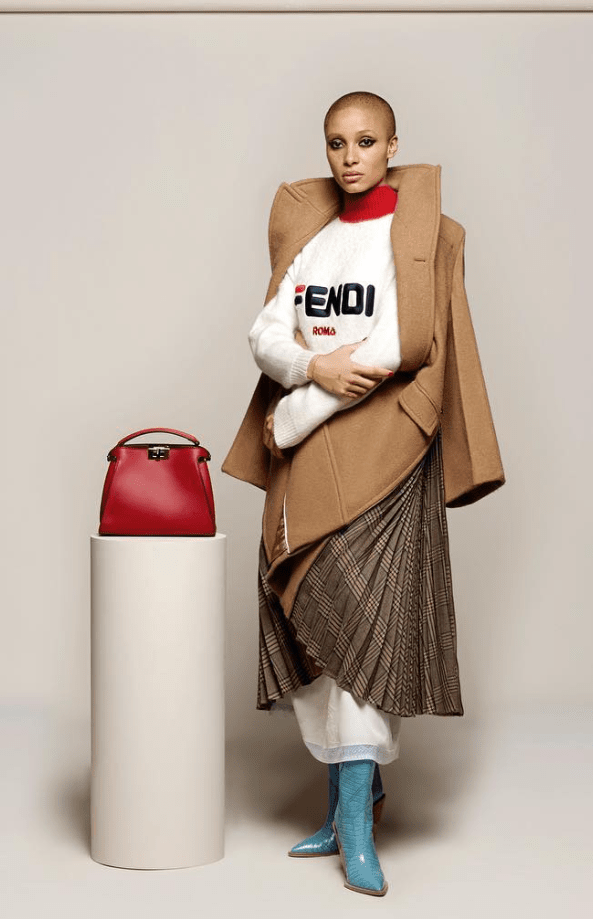 FENDI Debuts FILA Collaboration at Milan Fashion Week