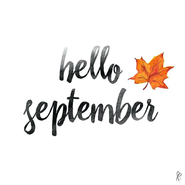 Hello September + the push you didn't know you needed
