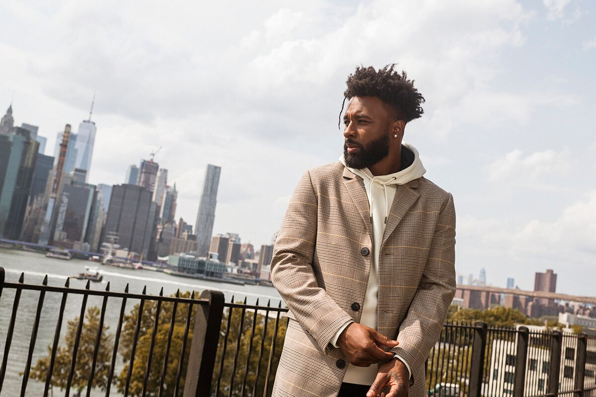 NFL Star Jarvis Landry Teams Up With H&M
