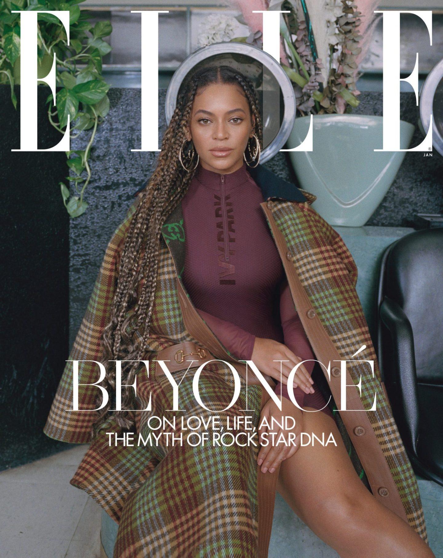 Beyoncé Covers Elle Mag + Teases IVY PARK Relaunch