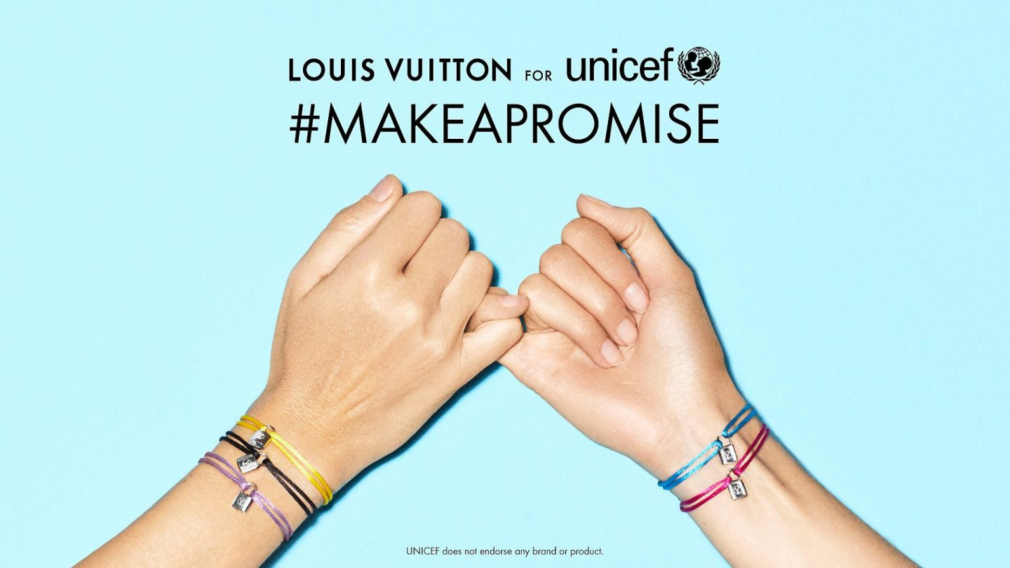 Louis Vuitton renews commitment to UNICEF with bracelets designed by Virgil Abloh