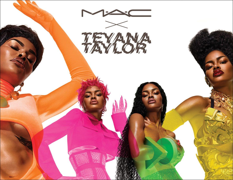 Teyana Taylor Unveils M.A.C. Collection