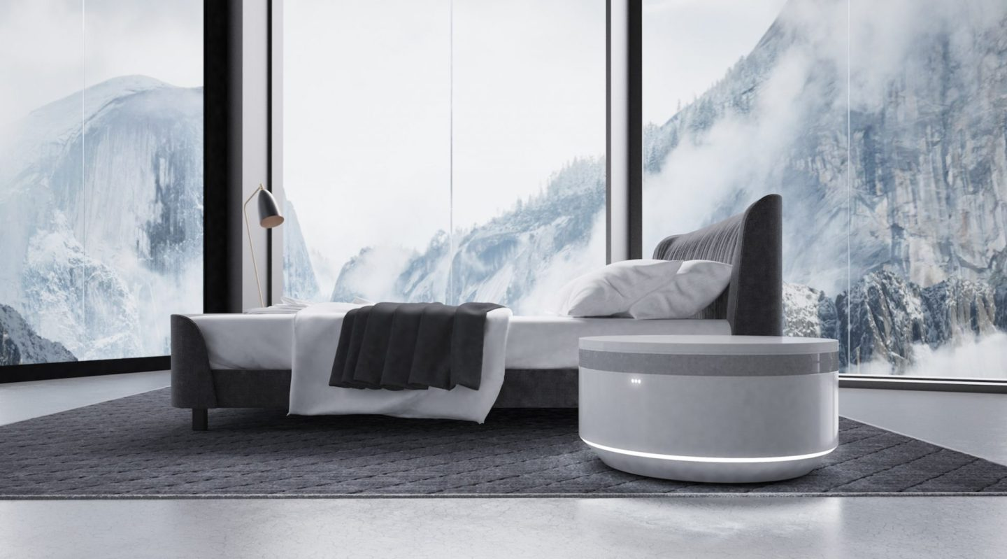 A New Smart Nightstand for Bedside Luxury