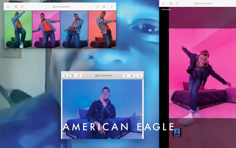 American Eagle x TikTok Back To School '20 Campaign