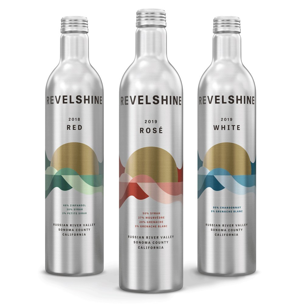Revelshine Launches with Recyclable Wine Bottles