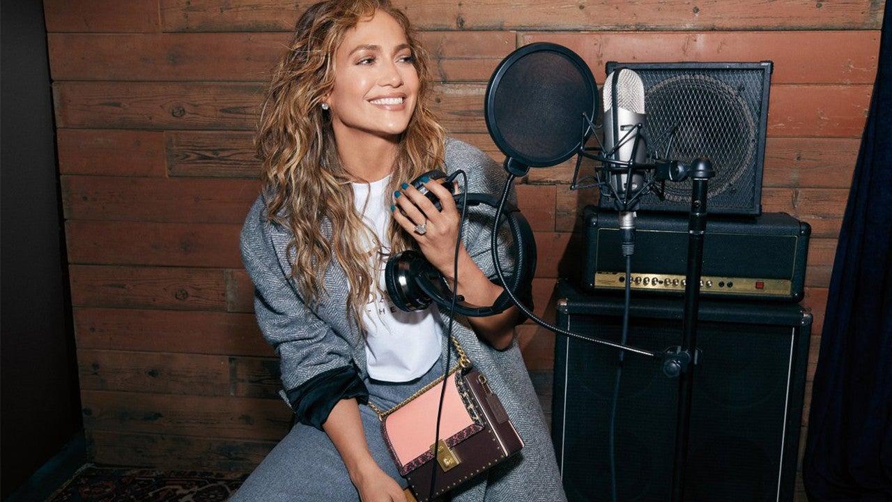 Coach x Jennifer Lopez Special-Edition Hutton Bag