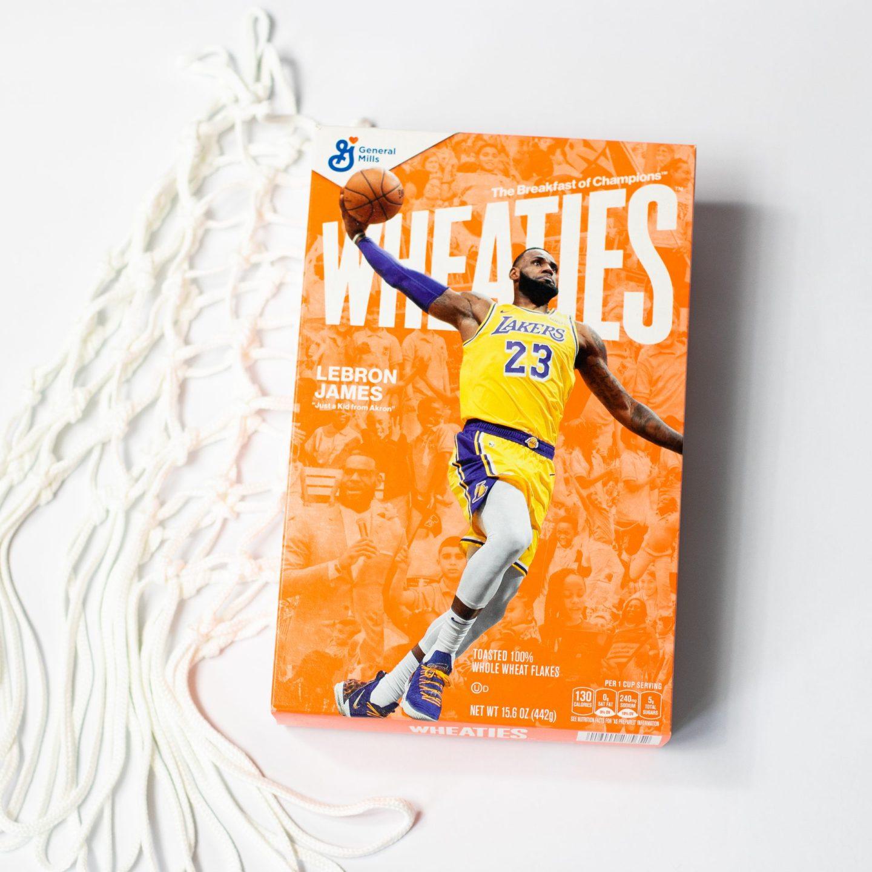 LeBron James Next Athlete Named to Iconic Wheaties Box