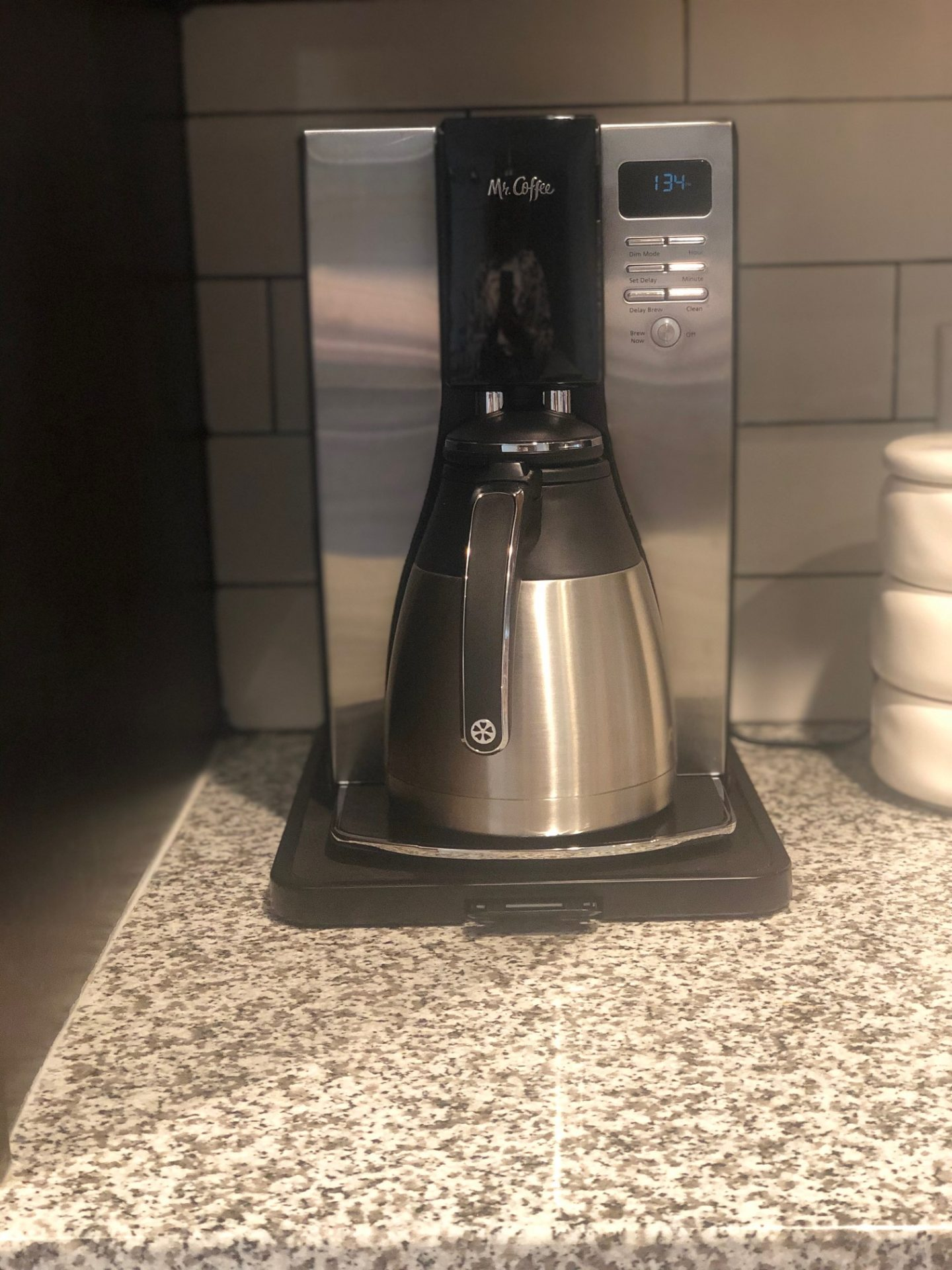 Mr. Coffee® Optimal Brew™ 10-Cup Programmable Coffee Maker with Thermal Carafe