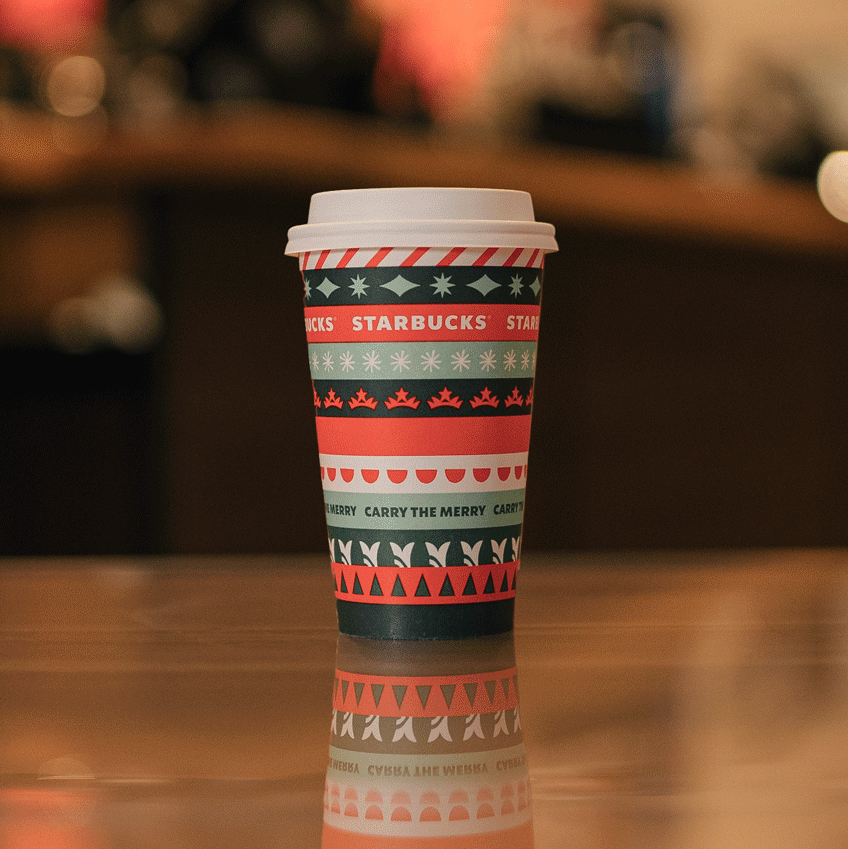 Starbucks Releases Holiday 2020 Menu + Free Reusable Cup!