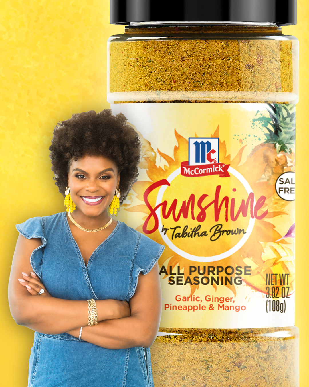 Tabitha Brown Teams with McCormick for Exclusive New Seasoning