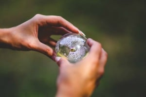 Sara Grillo - Holding A Crystal Ball