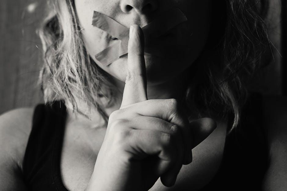 Sara Grillo - Hushing Woman - Financial Advisor Buzzwords