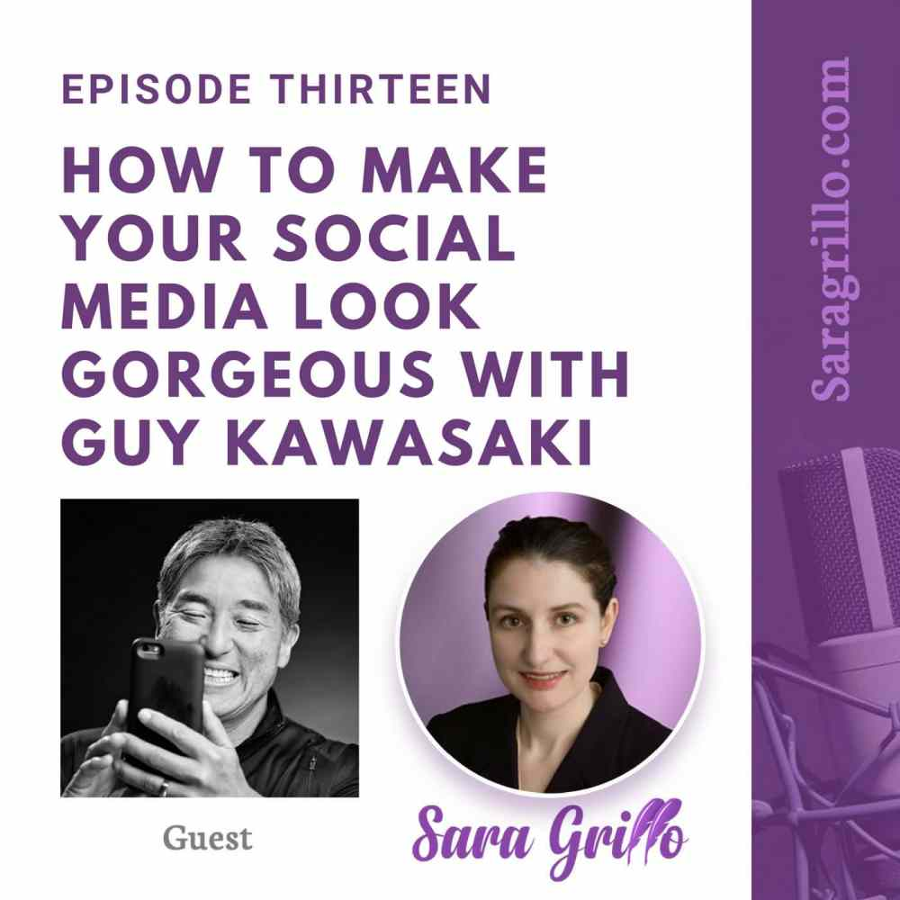 This episode discusses how to Make Your Social Media Look Gorgeous with Guy Kawasaki of Canva.