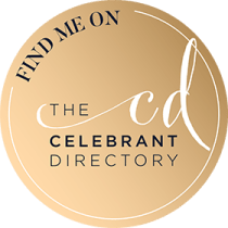 Find me on the Celebrant Directory