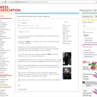 Work experience: Press Association