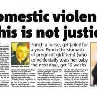 Are these domestic violence sentences fair?
