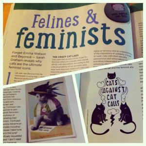Felines & Feminists - Your Cat magazine