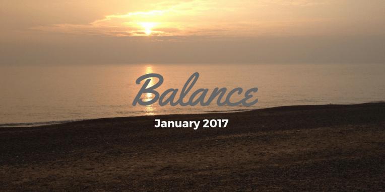 Balance, January 2017