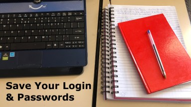 save your passwords